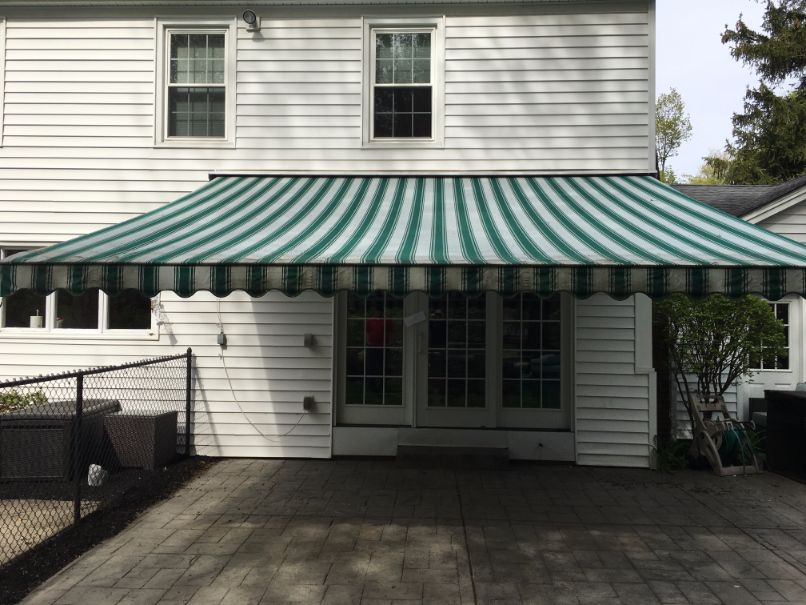Before Awning Cleaning In West Seneca New York By